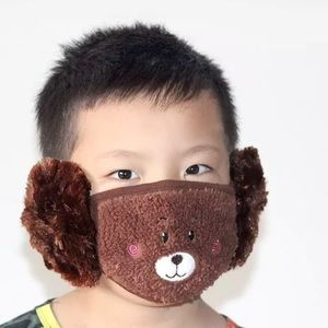 Soft and Comfy Winter Face Mask w/ Earmuff